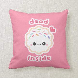 Coussin Biscuit intérieur de morts mignons
