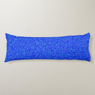 coussin bleu de corps de polyester de bruit