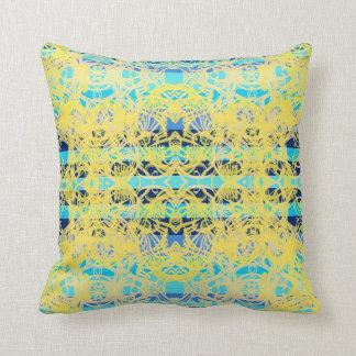Coussins bleu et jaune personnalis s - Coussin jaune et bleu ...