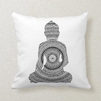Coussin Bouddha graphiZen