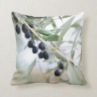 Coussin Branche d'olivier