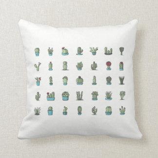 Coussin Cactus et carreau de Succulents