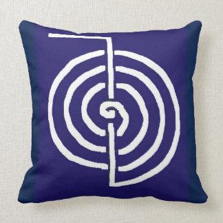 Coussin Cadeau curatif de base de MODÈLE de symbole de