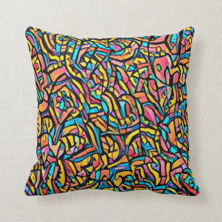 Coussin carré astral terre