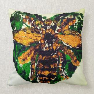 Coussin carré d'abeille de Manchester grand