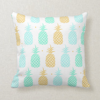 Coussin Carreau coloré de motif d'ananas