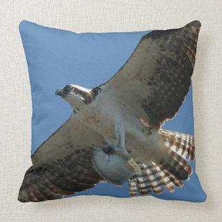 Coussin Carreau d'animal de faune de poissons d'oiseau de