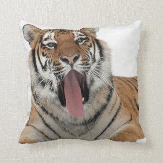 Coussin carreau de baîllement de tigre