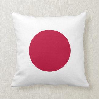Coussin Carreau de drapeau du Japon