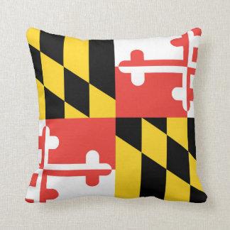 Coussin Carreau de drapeau du Maryland