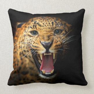 Coussin Carreau de faune de chat de guépard