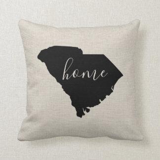 Coussin Carreau de l'État d'origine de la Caroline du Sud