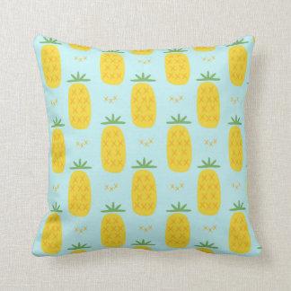 Coussin Carreau de motif d'ananas