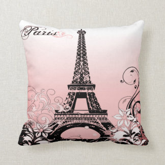 Coussin Carreau de Paris de Tour Eiffel