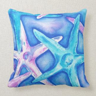 Coussin carreau d'étoiles de mer