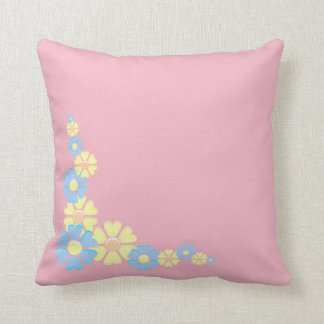 Coussin Carreau floral simple de conception de frontière