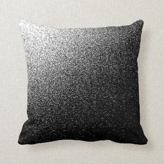 Coussin Carreau noir et blanc de polyester de BRUIT