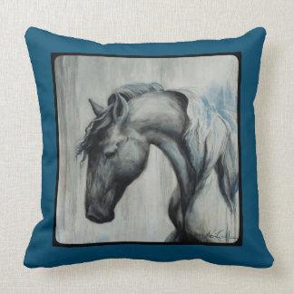 Coussin Carreau original de cheval de beaux-arts de