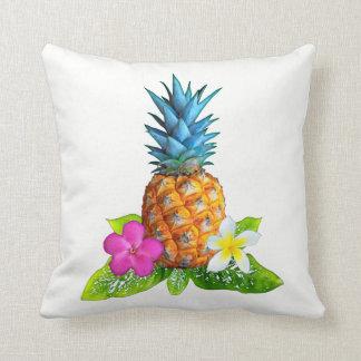 Coussin Carreau personnalisable d'ananas dans vos COULEURS
