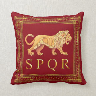 Coussin Carreau romain de lion