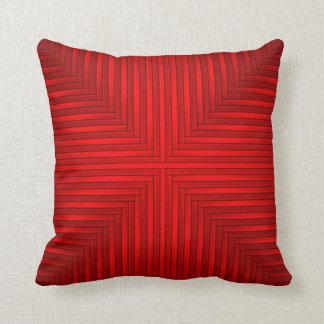 Coussin Carreau rouge