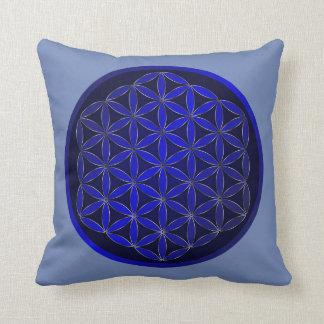 Coussin Carreau sacré de coton de la géométrie