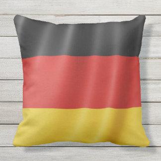 Coussin Carreaux allemands de drapeau