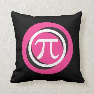 Coussin Cercles ROSES et frais de symbole de pi