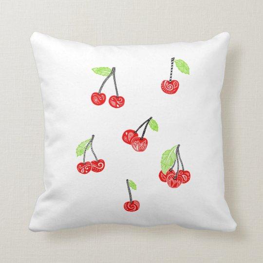 Coussin ceries Pillow cherries
