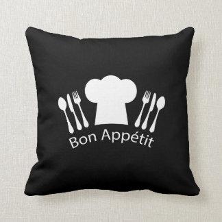 Coussin Chapeau français de chefs de restaurant pour le