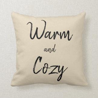 Coussin chaud et confortable