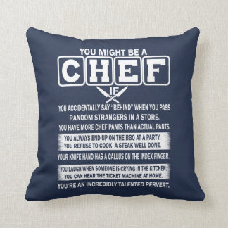 Coussin Chef