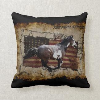 Coussin Cheval exprès de Pinto de poney