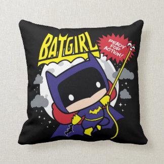 Coussin Chibi Batgirl prêt pour l'action