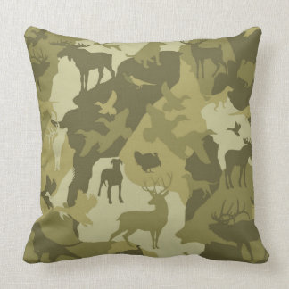 Coussin Chien de Cammo/camoflauge/deer/elk/moose/hunting
