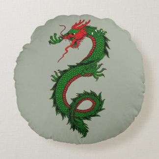 Coussin chinois de dragon