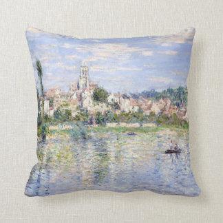 Coussin Claude Monet Vétheuil en été