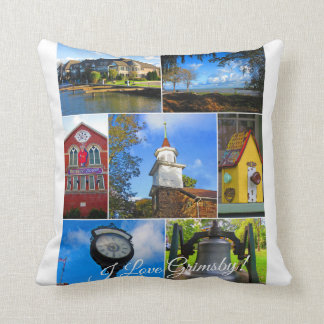 Coussin Collage de Grimsby Ontario