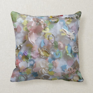 Coussin Collage vintage