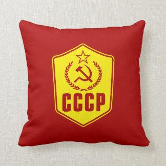 Coussin communiste d'emblème de CCCP