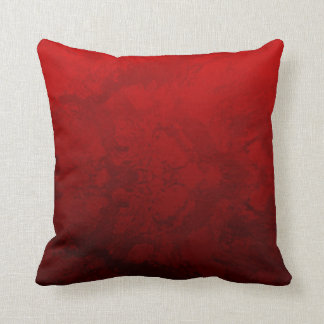 Coussin Conception rouge rouge
