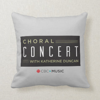 Coussin Concert choral