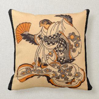 Coussin Conte de fées japonais la copie de moineau de