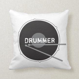 Coussin Cool minimal de musique rock de percussion de