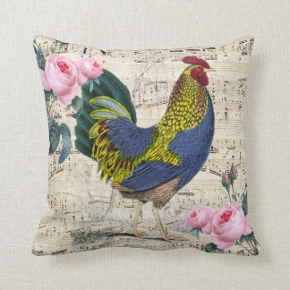 Coussin Coq chic minable