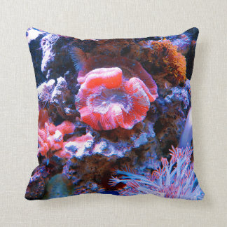 Coussin Corail tropical