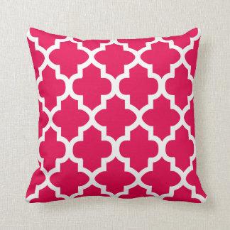 Coussin Couleur rose et blanche du motif | do-it-yourself
