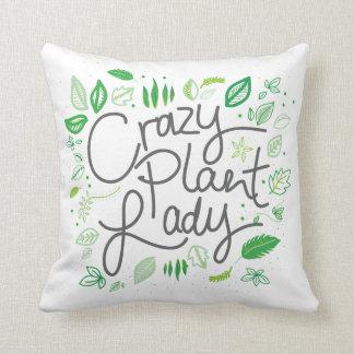 Coussin Crazy plant lady