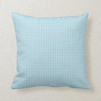 Coussin Cuddle-Cotton-Blue-Check_Lumbar-Square ml