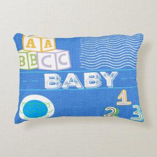 Coussin d'accent de bébé d'enfants - bleu
